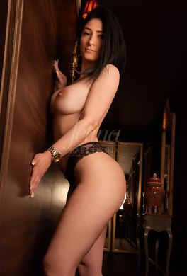 Young Spanish escort with large breasts