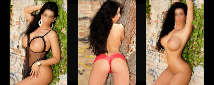 Spanish Escort brunette with big breasts